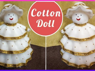 Easy & Simple Cotton Doll || DIY || Craft || by Piyushas Art
