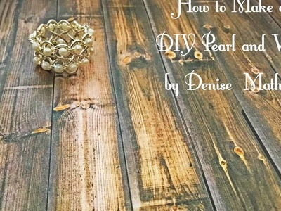 How To Make A DIY Bead And Wire Infinity Ring By Denise Mathew