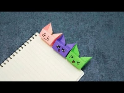 Simple Origami Cat | LoveToKnow | 300x400