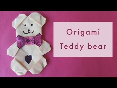 Art How To Make Paper Teddy Bear The Stuffed Animal