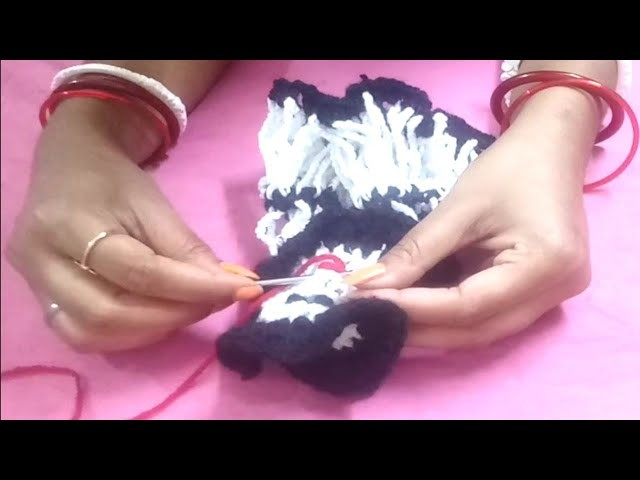 How to make woolen doll | Diy very easy crochet design doll | Cute doll from wool at home