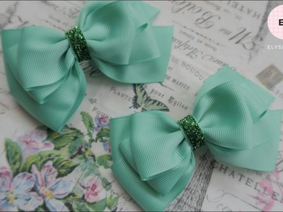 Laço De Fita ???? Ribbon Bow Tutorial #39 ???? DIY by Elysia Handmade