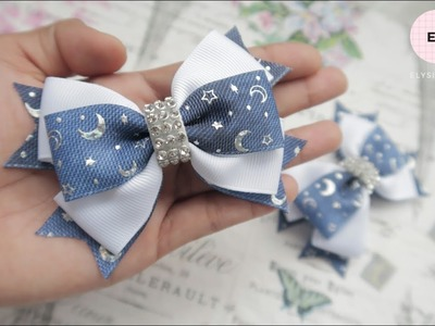 Laço De Fita ???? Ribbon Bow Tutorial #42 ???? DIY by Elysia Handmade