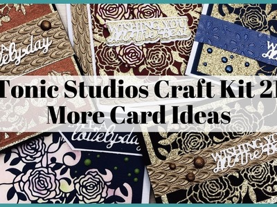 Tonic Studios Craft kit 21 More Card Ideas, Stretch Your Products