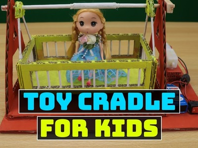 Toy Mini-Cradle Under $3 | Fun Project for Kids | DIY