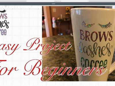 Use Vinyl And Your Cricut To Make A Girly Mug Diy   Diy Coffee Mug