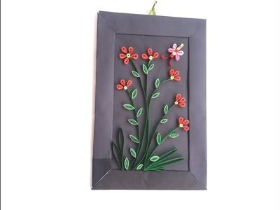 Wall Hanging with Paper. paper craft wall mate 2019.কাগজের ওয়ালমেট #3