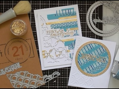 Washi Cards with Tonic Craft Kit #21 :D