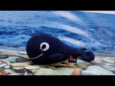 Amigurumi paus tutorial-whale amigurumi crochet
