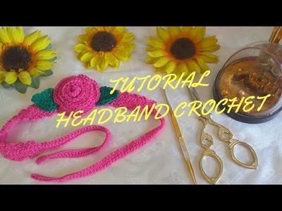 Crochet || Tutorial headband crochet || How to crochet a headband