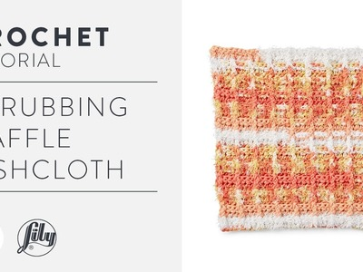 Crochet Waffle Stitch Dishcloth Tutorial With The Crochet Crowd