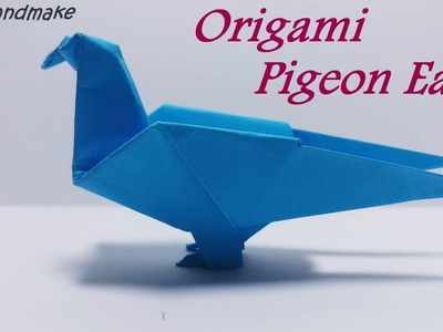 Diy Origami Pigeon Easy.How to make an Origami Pigeon.Origami for Kids.Origami Animals!
