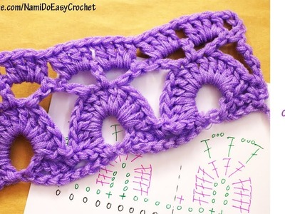 Easy Crochet: How To Read Crochet Chart #02