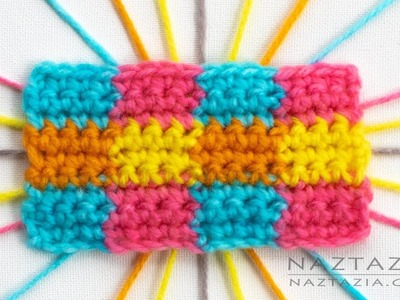 How to Change Colors in Crochet - 8 Different Ways by Naztazia