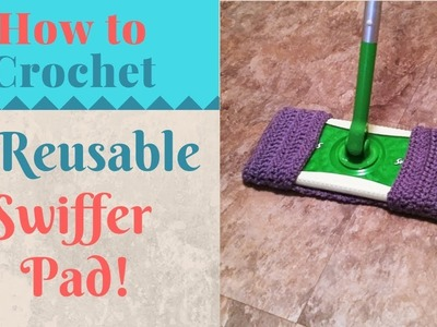 Pattern How To Crochet A Reusable Swiffer Pad How To Crochet A