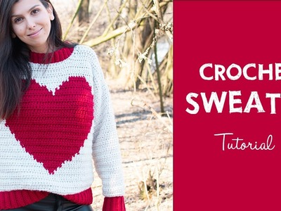 How To Crochet A Simple Chunky Sweater| Croby Patterns