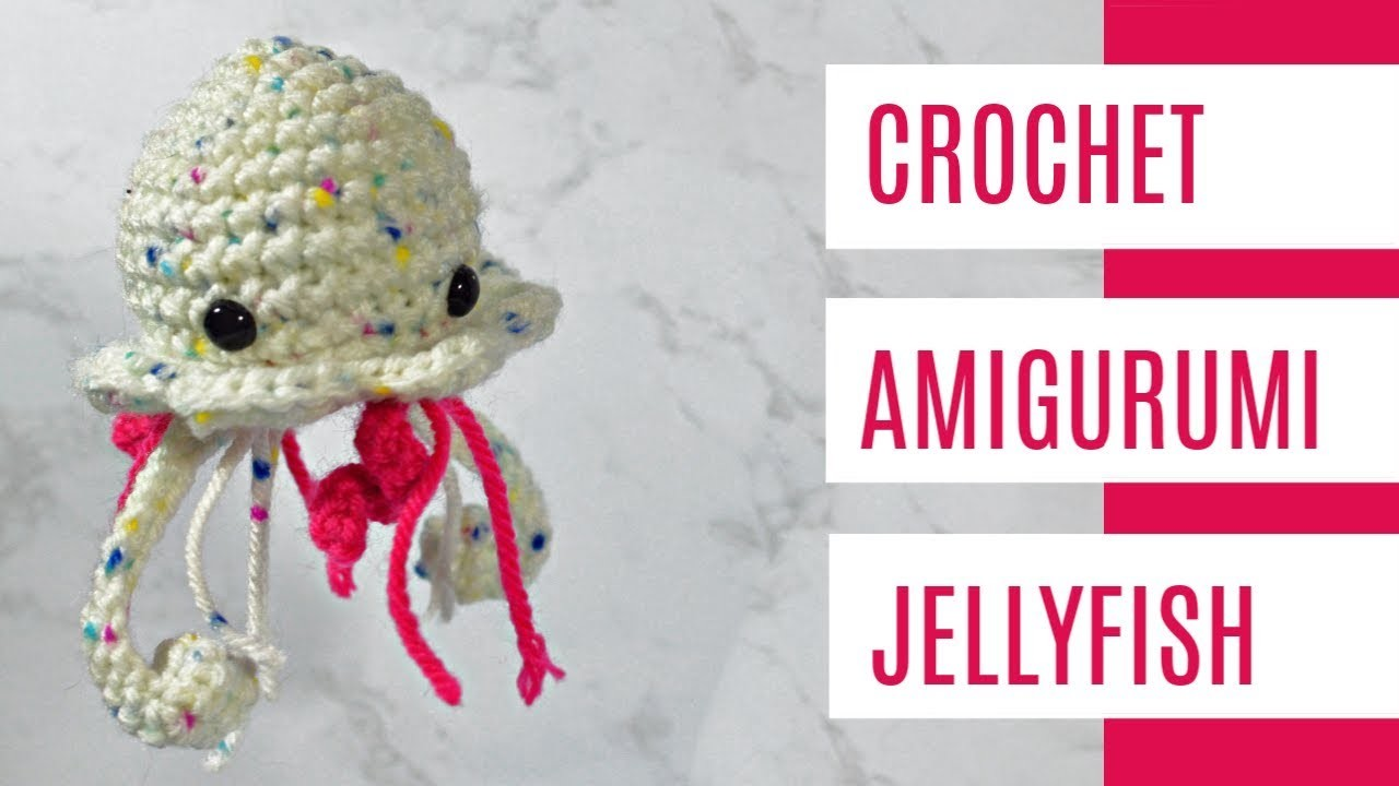 How To Crochet - Easy Beginners Amigurumi Jellyfish Extension Tutorial Part 2