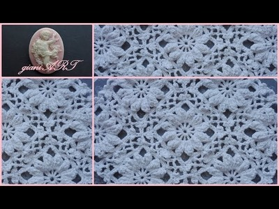 How to Join Lace Motif Crochet Flower in the Frame 2⃣
