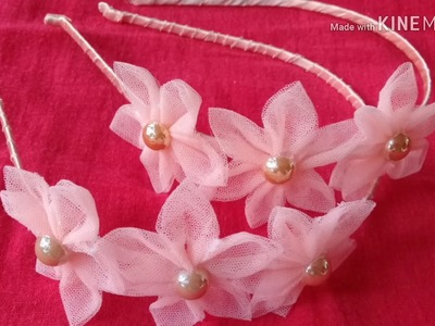 How to make hairband in old cloths