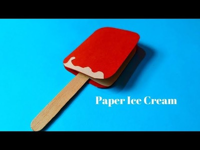 How To Make Paper Ice Cream | DIY Ice Cream For Kids | Summer Crafts | InnoVatioNizer
