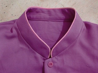 How to sewing shanghai collar