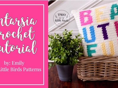 Intarsia Crochet Tutorial and FREE pattern download