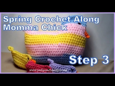 Spring Crochet A Long Momma Chick - Step 3