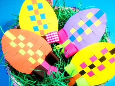 DIY Easter Crafts for Kids | How to Make Paper Decorative Eggs