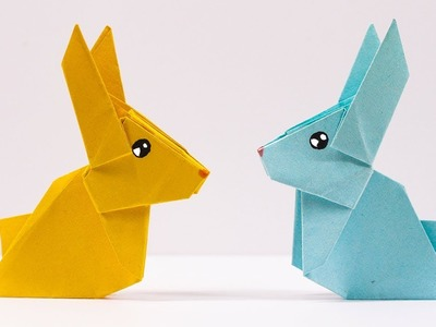 Easy #Origami #Rabbit - How to Make Rabbit Step by Step