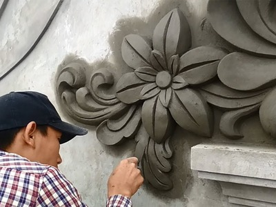 How To Beautify Your Home - Sand And Cement Materials Needed In Decoration