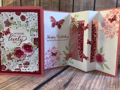 How to Create an Inside Pop-up Card Stampin' Up! 2019