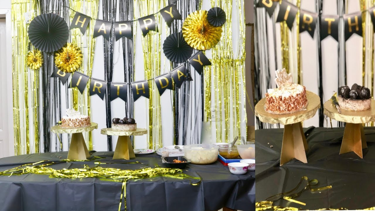 How to Decorate Your House for a Birthday Party | How I Decorated Room for my Husband's Birthday