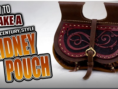How to Make a 14th Century style Kidney Pouch
