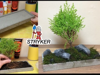 How To Make a  Japanese Style Micro Moss Garden