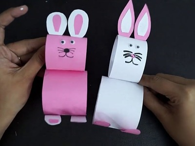 How To Make An Easter Bunny || Easy Easter Crafts For Kids || DIY