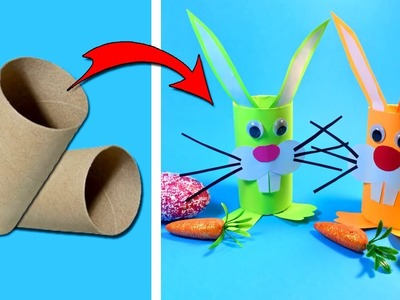 How to Make DIY Easy Easter Paper Crafts for Kids