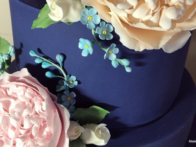 How To Make Forget Me Not Filler Flowers
