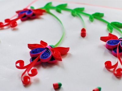 How to make Quilling Fuchsia Flower