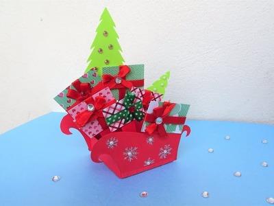 Christmas Pop Up Card | How to make a Pop Up Christmas Greeting Card DIY Tutorial