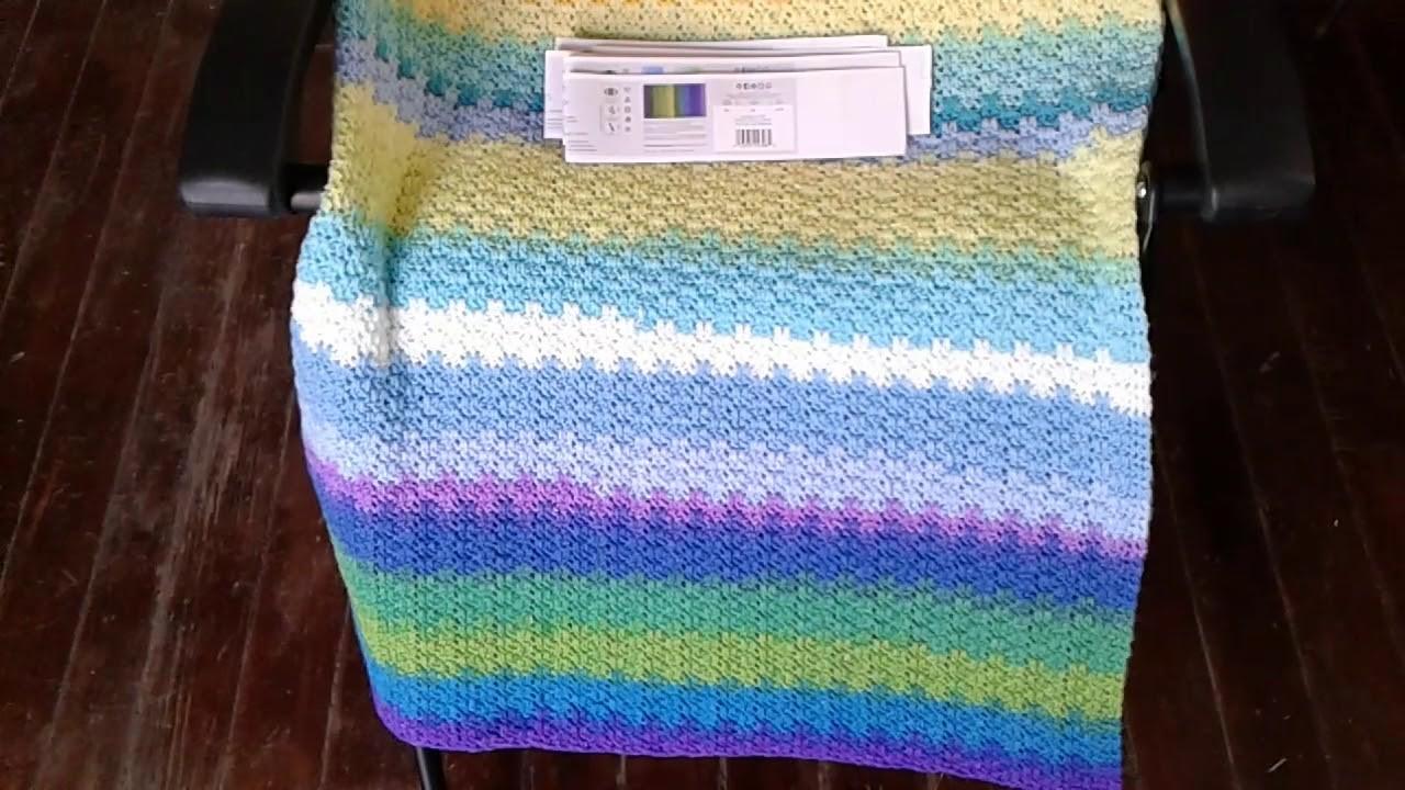 Blanket Crochet Blanket Lion Brand Mandala Yarn Crochet