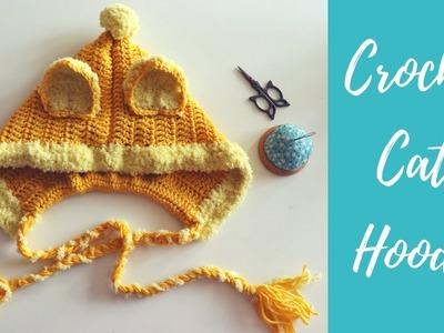 Crochet Cat Hoodie