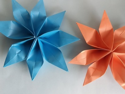 Make Diy Easy Paper Flower How To Make Easy Paper Flower By Bd