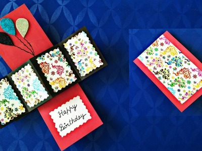DIY | Handmade New Year Greeting Card | Birthday Greeting Card | How to make | Twist & Pop up Card