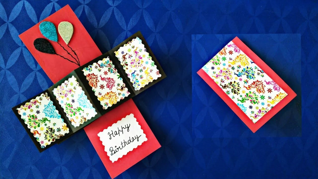 how to make rubber band activated pop up cards