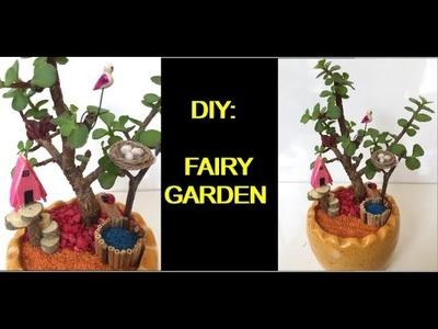 DIY   How to make Fairy Garden in small pot