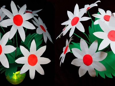 Easy Paper Cutting Flowers Step By Step Flowers Healthy