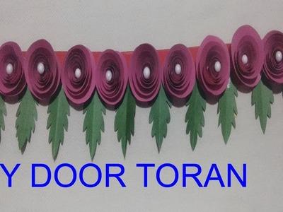 DIY : WALL HANGING TORAN.HOW TO MAKE WALL TORAN AT HOME.PAPER WALL TORAN.Creative Art