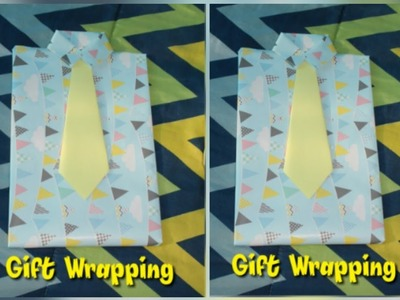 Easy shirt????wrapping.How to wrap gifts in a shirt style.????wrapping idea.