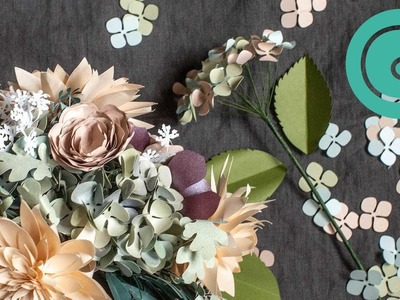How To Arrange Paper Hydrangeas