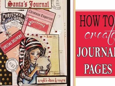 How to Create Easy, Beautiful Journal Pages